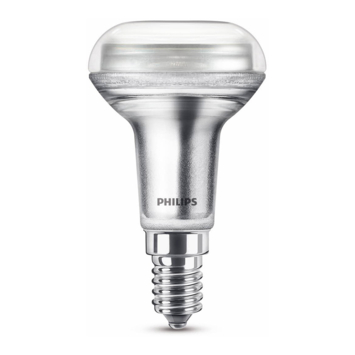 Philips LED reflector E14 60W dimbaar