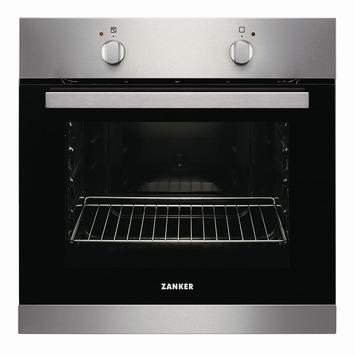 Zanker traditionele oven KOB10301XK 60 cm inox