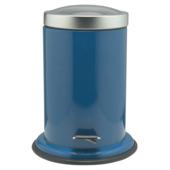 Poubelle à pédale Acero Sealskin 3 L bleu