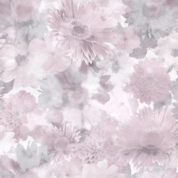 Vliesbehang Summer Garden roze (106372)