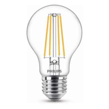 Philips LED peer E27 75W filament helder niet dimbaar
