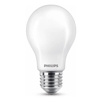 Philips LED peer E27 60W wit mat niet dimbaar