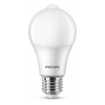 Philips LED peer E27 60W bewegingssensor mat niet dimbaar