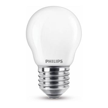 Philips LED kogel E27 40W mat niet dimbaar