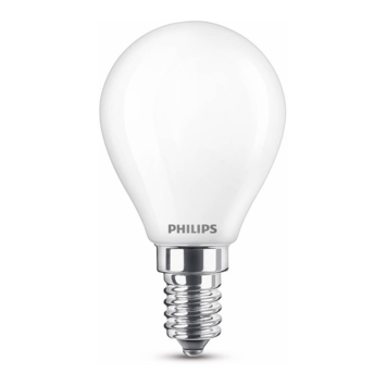 Philips LED kogel E14 40W mat niet dimbaar
