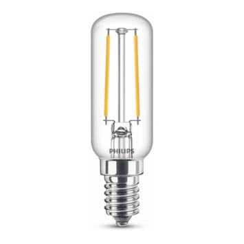 Philips LED dampkaplampje E14 25W filament helder niet dimbaar