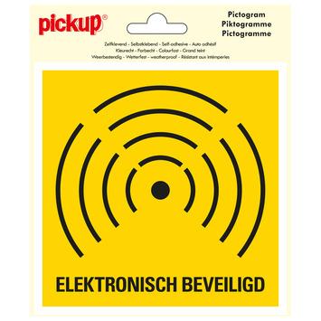 Pickup pictogram 15x15 cm elektronisch beveiligd