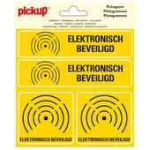 Pictogramme Pickup 15x15 cm electronisch beveiligd