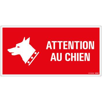 Pickup bord 15x30 cm attention au chien