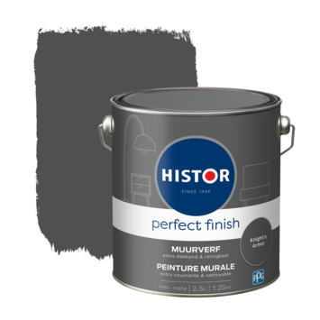 Histor Perfect Finish muurverf mat Knights Armor 2,5 liter