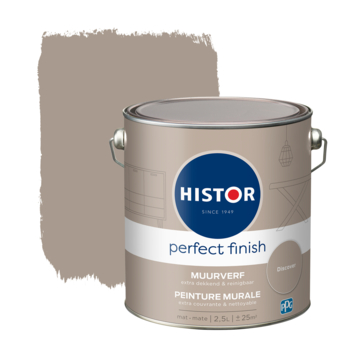 Histor Perfect Finish muurverf mat Discover 2,5 liter