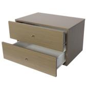 Bloc à tiroirs Duraline Storage sable