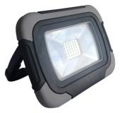 Handson LED bouwlamp 10W met oplaadbare accu grijs