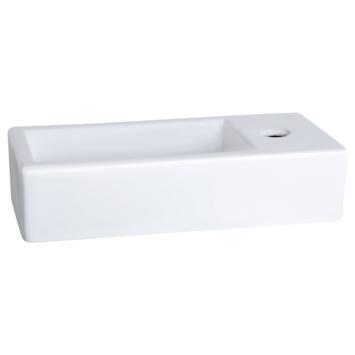 Lave-mains Ravo Differnz 38,5x18,5x9 cm blanc