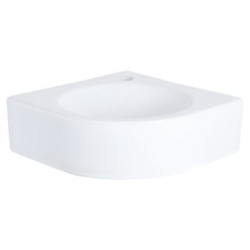 Lave-mains d'angle Cleo Differnz 30x30x10 cm blanc