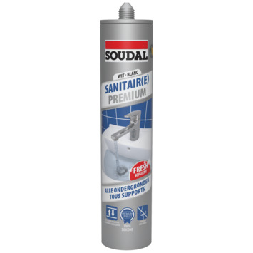 SOUDAL SANITAIR PREMIUM WIT 290ML