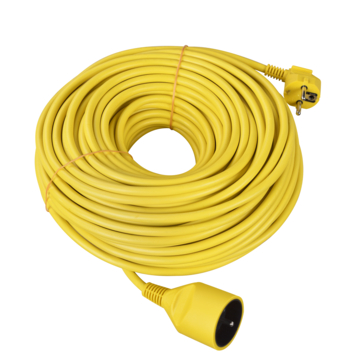 Handson verlengsnoer geel 30 m