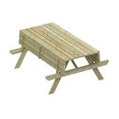 Table de picknick exclusive 70x180x150 cm