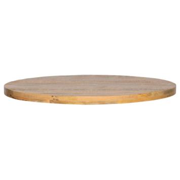 Tablo tafelblad mangohout Ø120 cm
