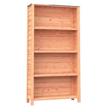Tuinkast open Douglas hout ± 187x35x100