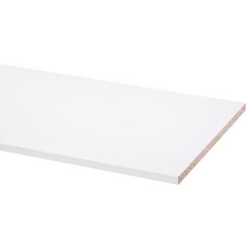 Meubelpaneel wit pefc 2-zijdig afgekant aan lange zijden 250x40 cm 18 mm