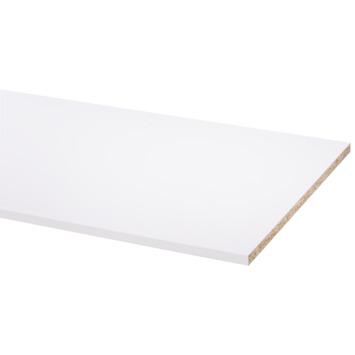 Meubelpaneel wit pefc 2-zijdig afgekant aan lange zijden 250x50 cm 18 mm