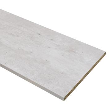 Panneau de meuble finition 2x ABS 18 mm 240x60 cm béton