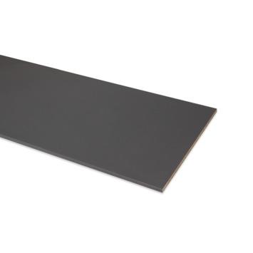 Panneau de meuble finition 2x ABS 18 mm 240x30 cm anthracite