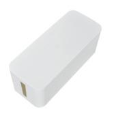 Boîte de rangement pour bloc-prises Handson blanc