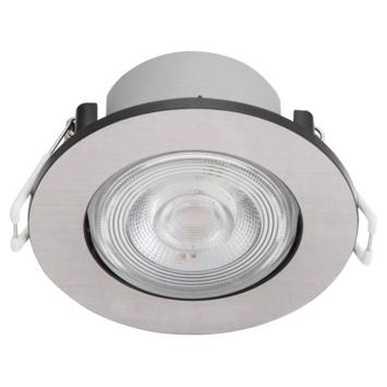 Philips set spots encastrés LED Taragon 3x4.5W nickel 2700K