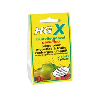 HGX fruitsvliegjesval navulling 2 stuks