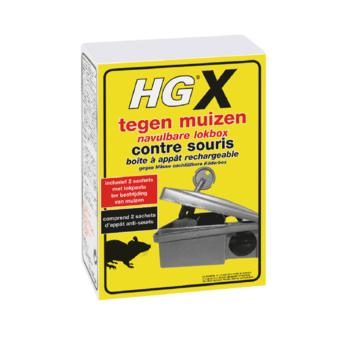 HGX recharge boîte à appat contre souris