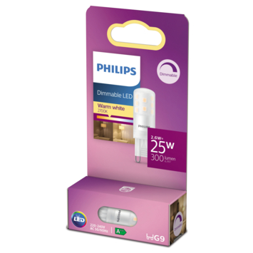 Philips LED capsule G9 25W dimbaar
