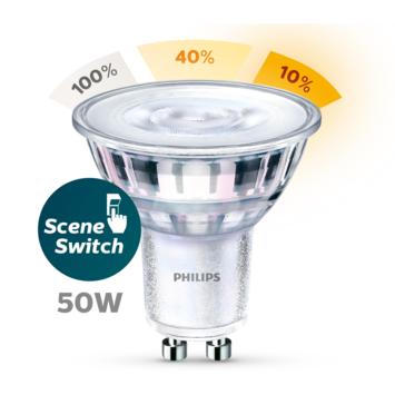 Philips LED spot GU10 50W sceneswitch