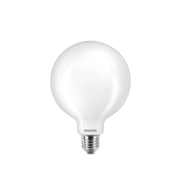 Philips LED globe E27 75W mat niet dimbaar