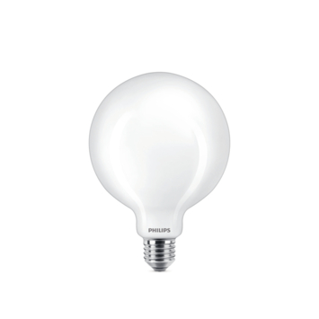 Philips LED globe E27 75W wit mat niet dimbaar