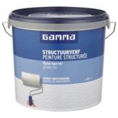 GAMMA structuurverf 5 L mat wit