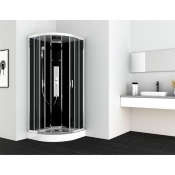 Cabine de douche quart de rond Gipsy Allibert 90x90 cm