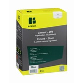 Ciment blanc Beamix 801 4 kg