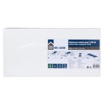Iso de Luxe polystreenplaat 100x50x2 cm 6 m²