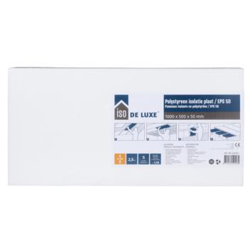 Panneau en polystyrène Iso de Luxe 100x50x5 cm 2,5 m²
