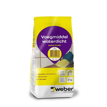 Mortier de jointoyage Weber 2 kg blanc