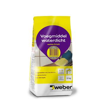 Mortier de jointoyage Weber 2 kg gris