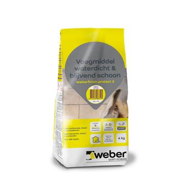 Weber voegmiddel waterdicht wit 4 kg