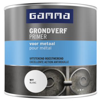 GAMMA Metaal Grondverf 250 ml wit