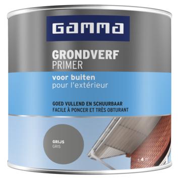 GAMMA Grondverf buiten 250 ml grijs