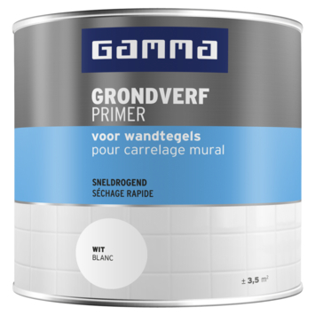 GAMMA Tegels Grondverf 250 ml wit