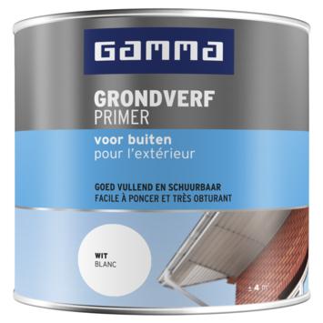 GAMMA Grondverf buiten 250 ml wit