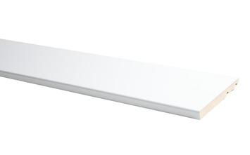 Plint Model Recht Hoogglans Wit 75x14mm 240cm
