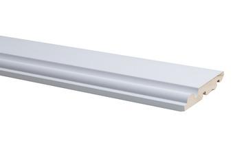Plint Model Engels Wit 75x14mm 240cm